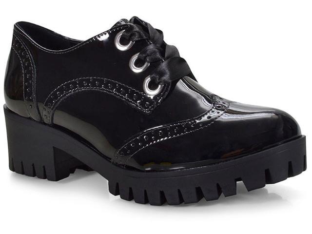Sapato Feminino Via Marte 18-608 Preto