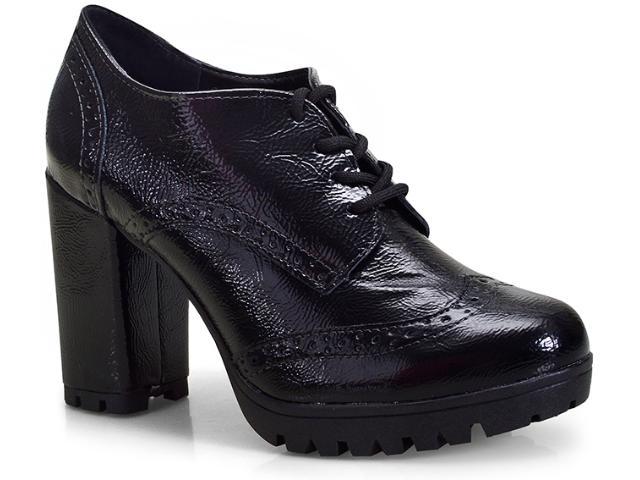 Sapato Feminino Via Marte 18-4408 Preto