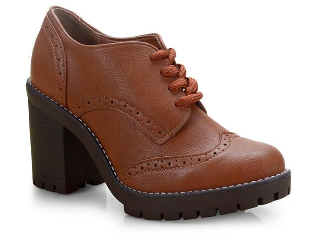 Sapato Feminino Via Marte 19-5901 Wisky