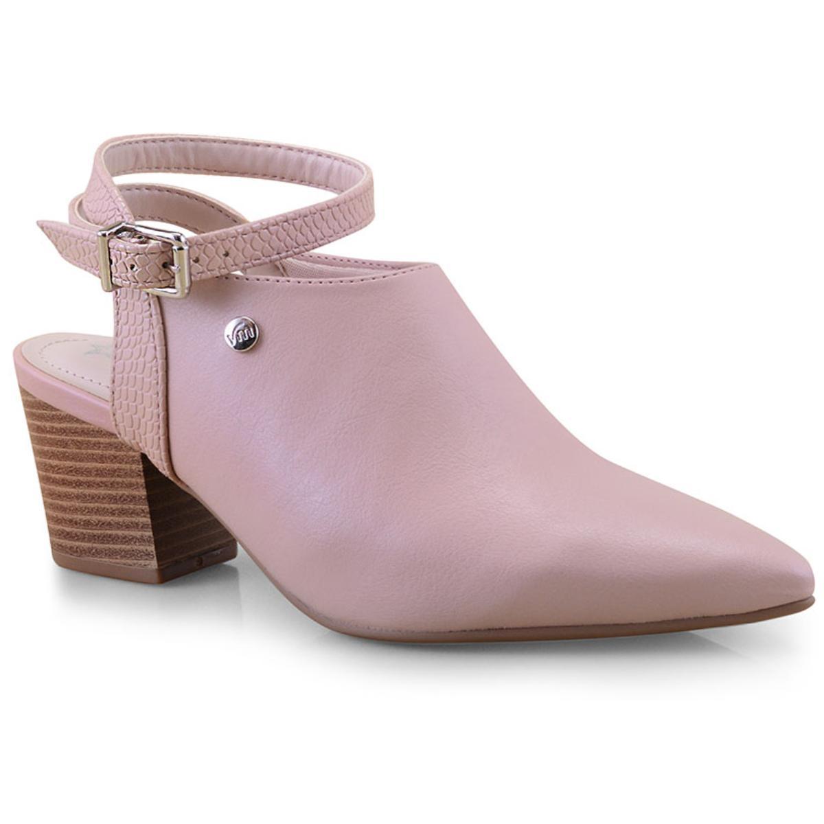 Sapato Feminino Via Marte 19-9909 Amendoa
