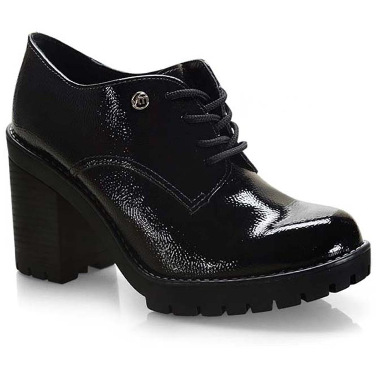 Sapato Feminino Via Marte 19-5902 Preto