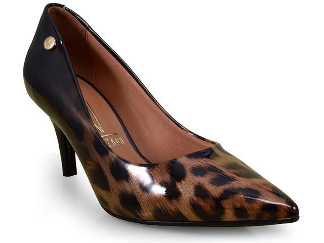 Sapato Feminino Vizzano 1185102 Preto Multi