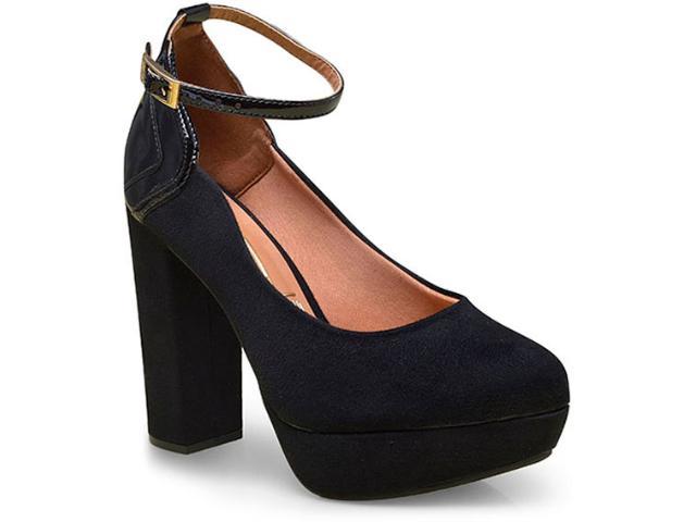 Sapato Feminino Vizzano 1262102 Preto