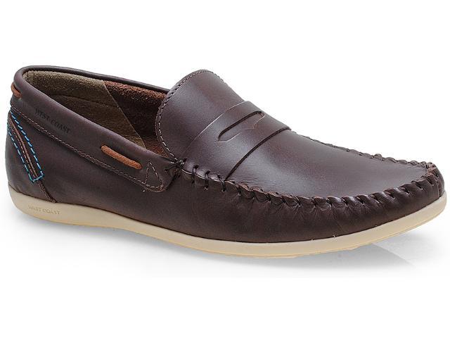 Sapato Masculino West Coast 117102/01 Chocolate