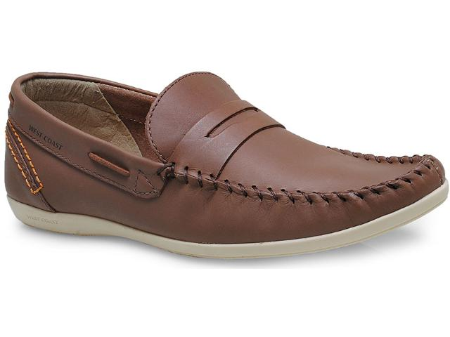 Sapato Masculino West Coast 117102/02 Natural