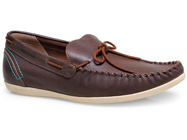Sapato Masculino West Coast 117101/1 Chocolate