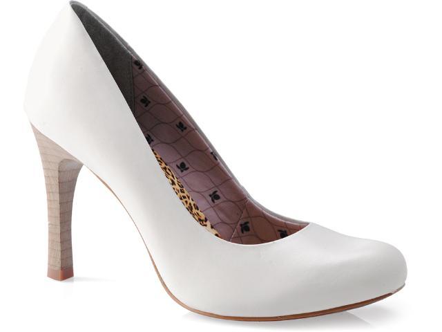 Sapato Feminino Cravo e Canela 89201/10 Neve