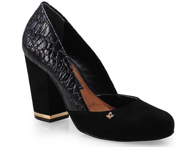 Sapato Feminino Cravo e Canela 99503/1 Preto