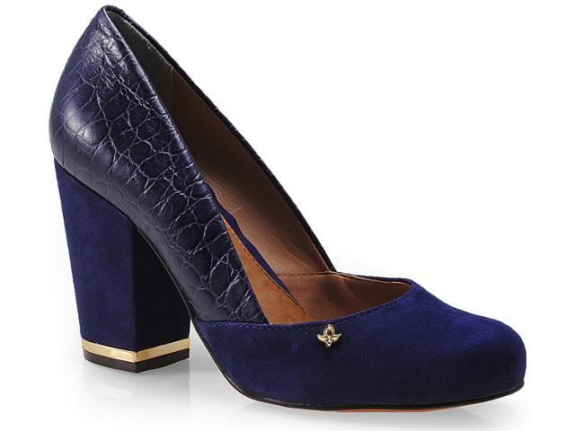 Sapato Feminino Cravo e Canela 99503/3 Dark Azul