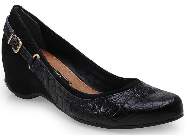 Sapato Feminino Cravo e Canela 99602/3 Preto