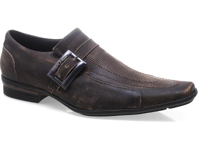 Sapato Masculino Ferracini 4652 Araguari Café