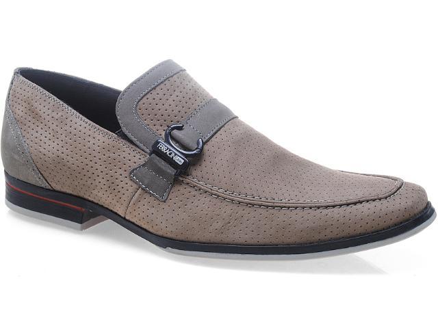Sapato Masculino Ferracini 3100 Jet Rato/cinza
