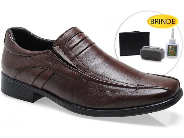 Sapato Masculino Ferricelli Ln11815 Brown