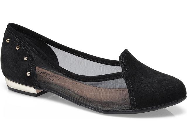 Sapato Feminino Ramarim 13-85202 Onca/preto/ouro