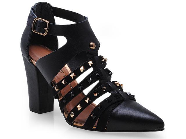 Sapato Feminino Tanara 5644 Preto