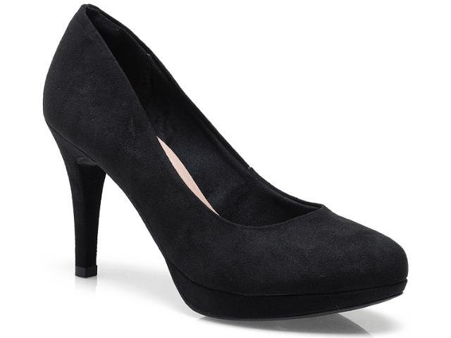 Sapato Feminino Via Marte 13-16501 Preto