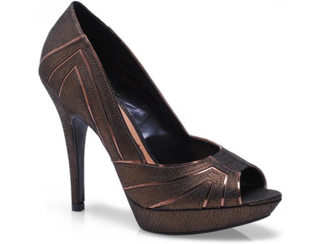 Sapato Feminino Vizzano 1811101 Bronze