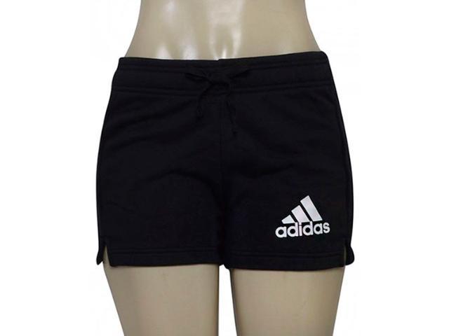 Short Feminino Adidas B45780 Ess Solid Sho Preto