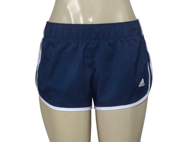 Short Feminino Adidas Ce2013 M10 Wovens Azul/branco