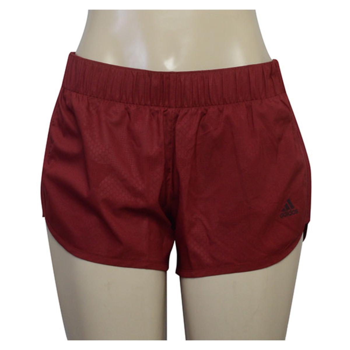 Short Feminino Adidas Dm2816 M10 Shor Vinho