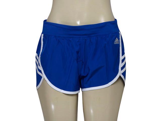 Short Feminino Adidas Aj2155 Ultimate Wvn Royal