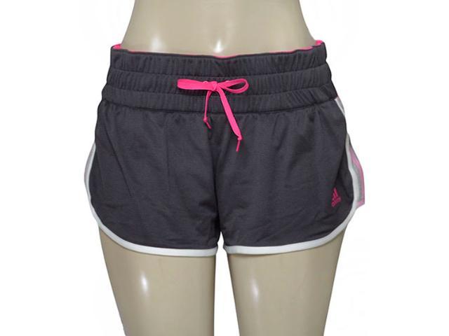 Short Feminino Adidas Ap9823 ak Pink M10 Grafite/pink
