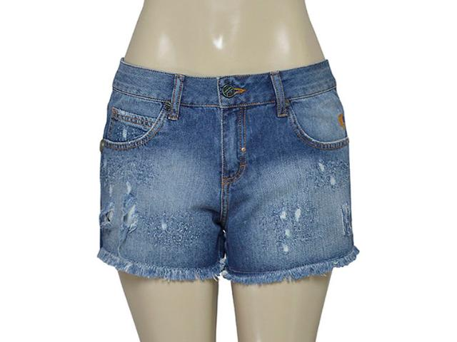 Short Feminino Cavalera Clothing 08.02.1191 Jeans