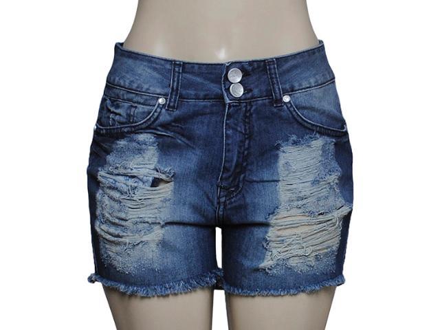 Short Feminino Dopping 013158513 Cor Jeans