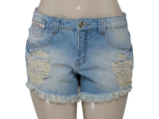 Short Feminino Moikana 15868 Cor Jeans