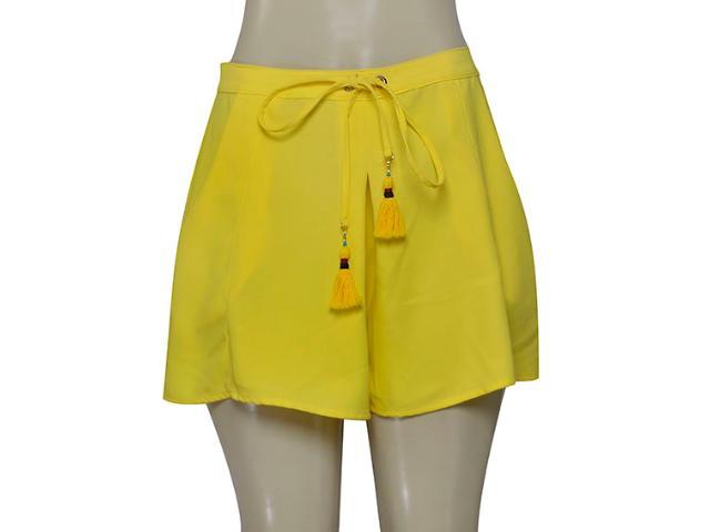 Short Feminino Morena Rosa 104245 Amarelo
