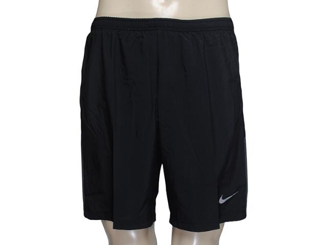 Masculino Nike 589720-010 Pursuit 2-in-1 Short Preto