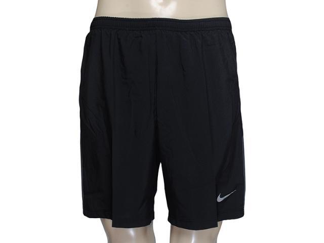 Masculino Nike 589720-010 Pursuit 2-in-1 Short Preto
