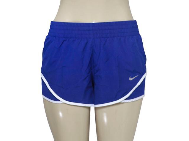 Short Feminino Nike 686024-455 Racer Woven  Azul