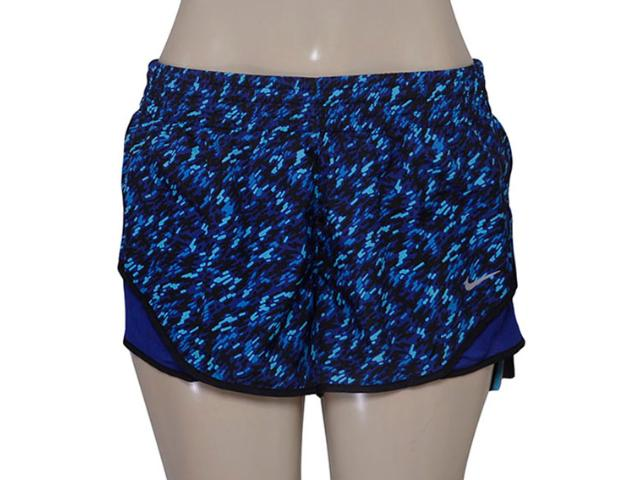 Short Feminino Nike 719763-455 Pronto Racer Roxo/azul