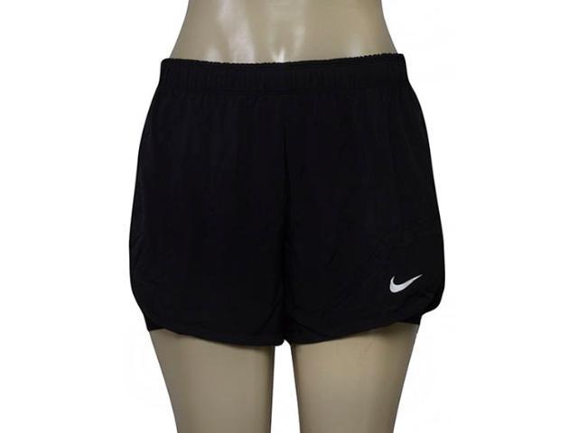Short Feminino Nike 831263-010 w nk Flx 2in1 Preto