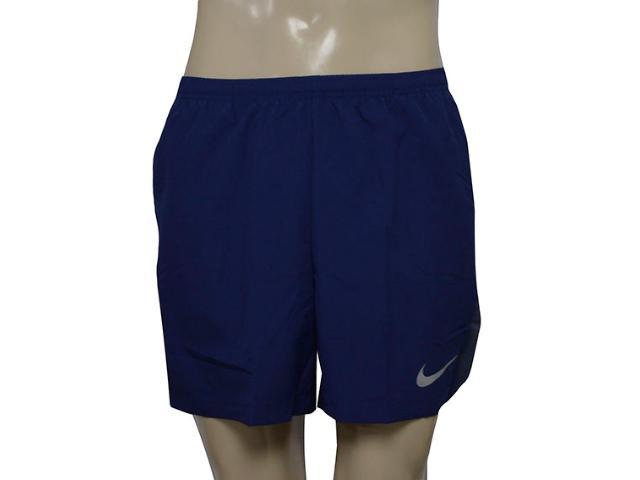 Masculino Nike 856836-429 Flx Chllgr Short 5in Marinho