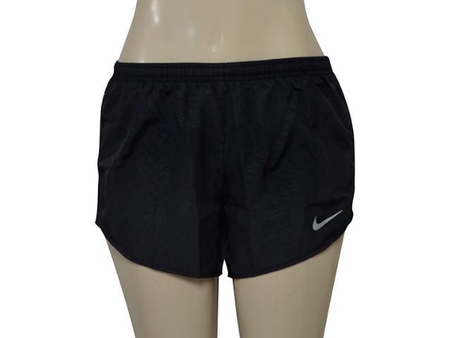 Short Feminino Nike 831281-010 nk Dry Tempo  Preto