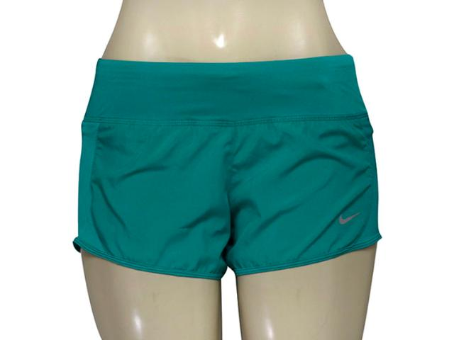 Short Feminino Nike 719558-351 Dry Running  Verde