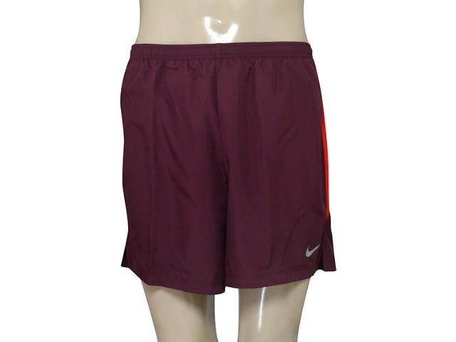 Short Masculino Nike 644236-681  Challenger Vinho