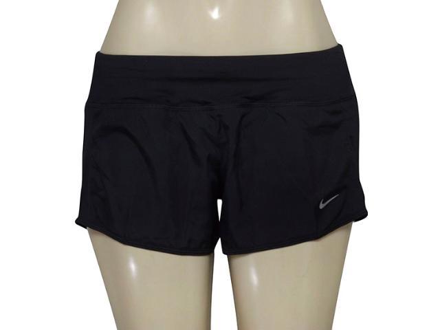 Short Feminino Nike 719558-010 Dry Running  Preto