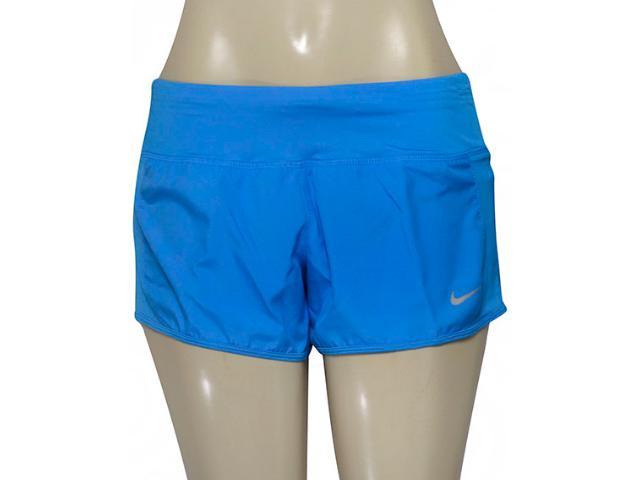 Short Feminino Nike 719558-435 Dry Running   Azul