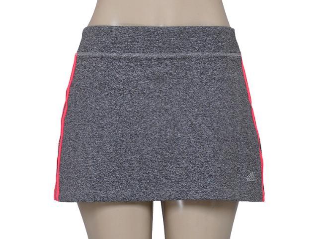 Short Saia Feminina Adidas Ac0601 Vida Wkt w Mescla/coral