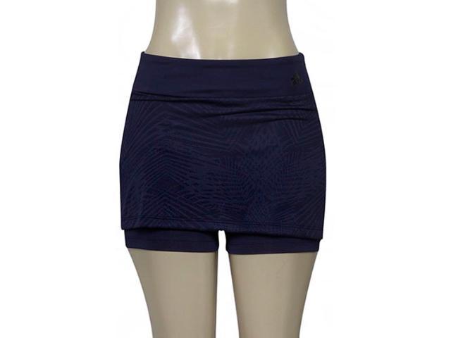 Short Saia Feminina Adidas Cd1931 Grafica Skort Roxo