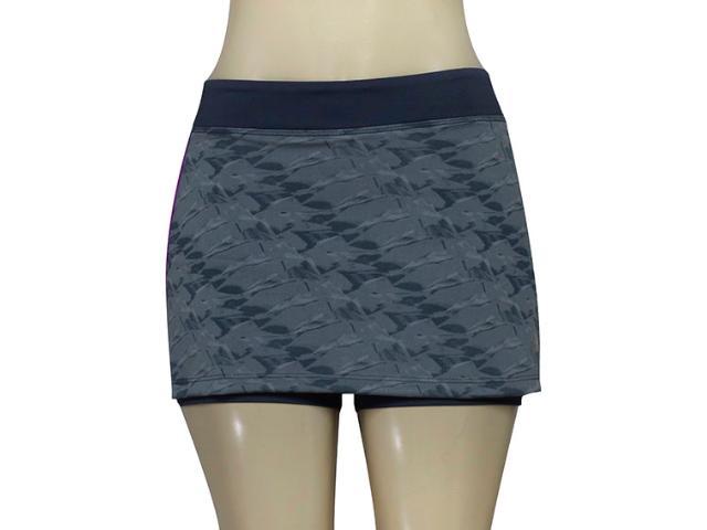 Short Saia Feminina Adidas Ay9272 Grafica Wkt 3 Cinza