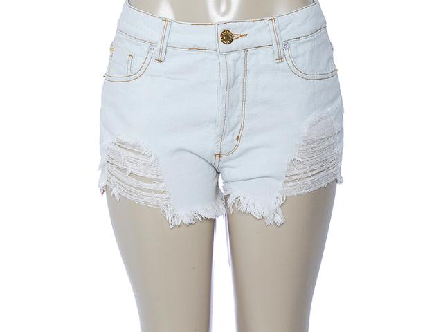 Short Feminino Coca-cola Clothing 63200489 Jeans Claro