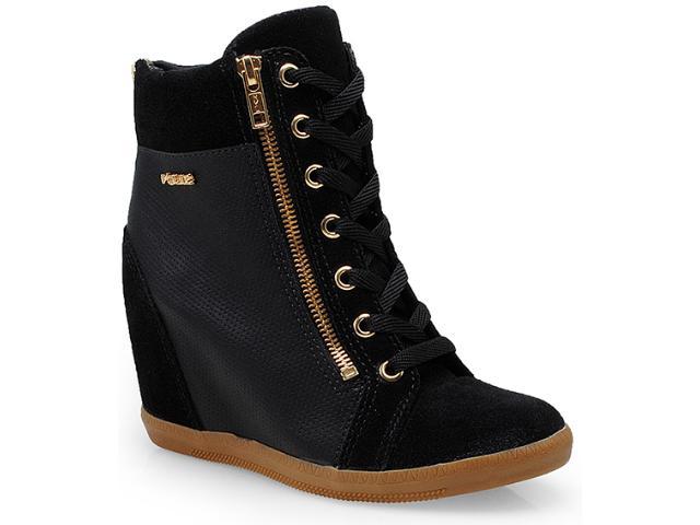 Sneaker Feminino Quiz 69901-2 Preto