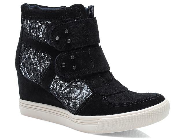 Sneaker Feminino Via Marte 13-3909 Preto
