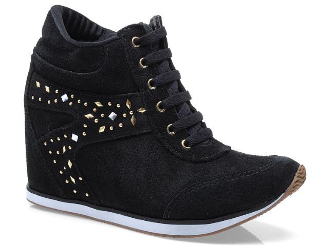 Sneaker Feminino Via Marte 13-17201 Preto