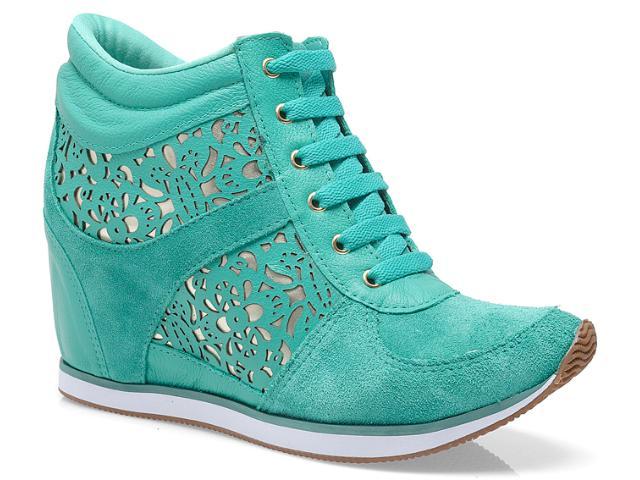 Sneaker Feminino Via Marte 13-17202 Esmeralda