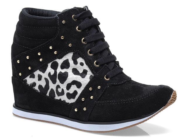 Sneaker Feminino Via Marte 13-17205 Preto/off White